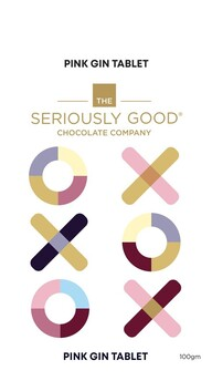The Seriously Good Chocolate Company - Pink Gin